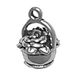 Basket of Flowers Charm