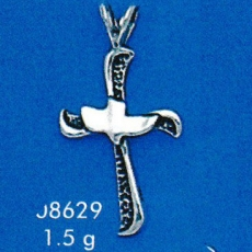 Cross Dove Pendant