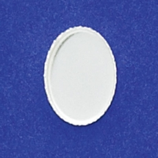 10X14mm Oval Bezel Cup Serrated
