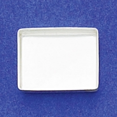 10x14mm Rectangle Bezel Cup Plain