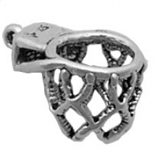 Basketball Hoop Charm