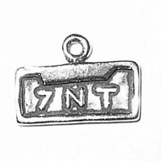 7NT Vanity Plate Text Charm