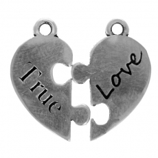 True Love Puzzle Heart