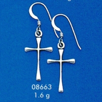 Cross Earings