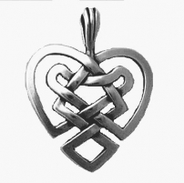 "Celtic ""Heart"" Pendant Large"