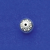 10mm Aztec Round Bead