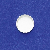 7mm Round Bezel Cup Serrated