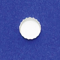 8mm Round Serrated Bezel Cup