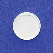 10mm Round Bezel Cup Plain