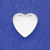 11mm Heart Bezel Cup Serrated