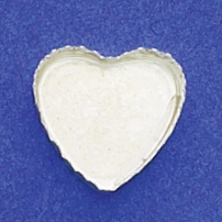 16mm Heart Bezel Cup Serrated