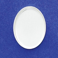 15X20mm Oval Bezel Cup Plain