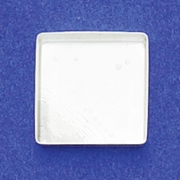 16mm Square Bezel Cup Plain