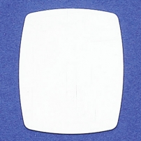 "Rectangle Blank 1-3/16"" X 1-7/16"""