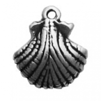 Shell, Scallop Charm