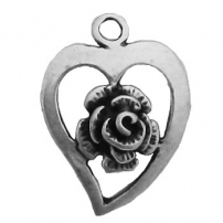 Heart with Rose, Left