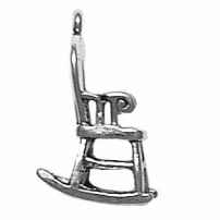 Bent Wood Rocker Charm