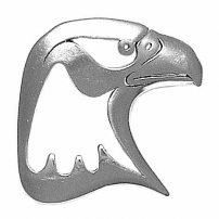 Eagle Head (pierced)