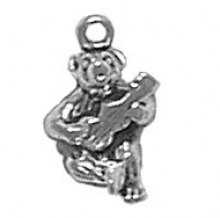 Bear with Guitar Charm