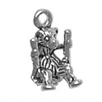 Bear on Swing Charm