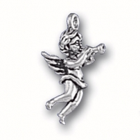 Angel with Trumpet Charm