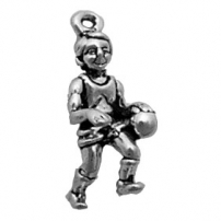 Basketball Player Charm