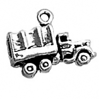 Army Transport Vehicle Charm