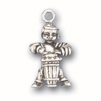 Boy with mambo Drum Charm