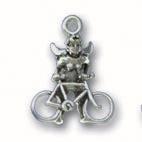 Bike Angel Charm