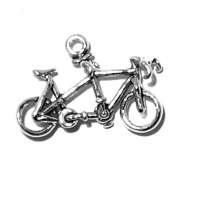 Bicycle Tandem Charm
