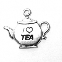 Tea Pot with I Heart Tea