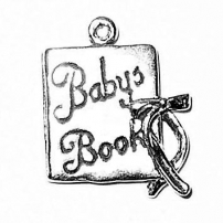 Baby Book Charm