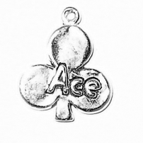 Ace of Clubs Charm