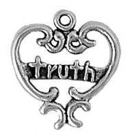 Filigree Heart w/Truth