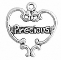 Filigree Heart w/Precious