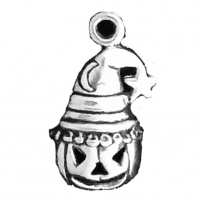 Jack-O-Lantern in Wizard Hat
