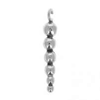 Bead Cluster Dangle, open loop
