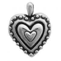 Heart with Beads