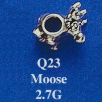 Moose Spacer Bead