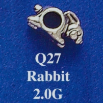 Rabbit Spacer Bead