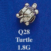 Turtle Spacer Bead