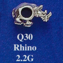 Rhino Spacer Bead