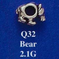 Bear Spacer Bead