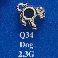 Dog Spacer Bead