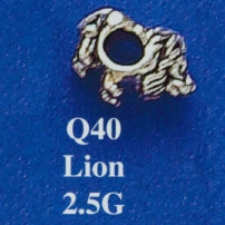 Lion Spacer Bead