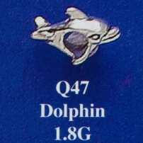 Dolphin Spacer Bead