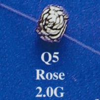 Rose Spacer Bead