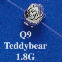 Teddybear Spacer Bead