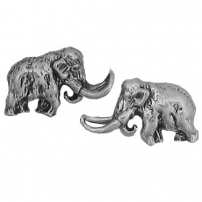 Wooly mammoth Earrings