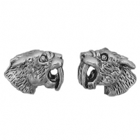 Sabertooth Tiger Head Earrings